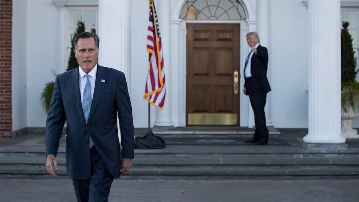 Please President Trump, I'm sorry. Sincerely cucked - Mitt Romney