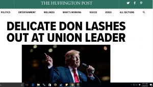 President Donald Trump Creates News Cycle By Attacking Chuck Jones – Union Boss Of Indiana For Failing To Protect Jobs; Idiot Fake News Outlets Triggered & Baited 100%