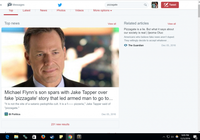 Fake Tapper, aka idiot CNN Jake Tapeworm (Tapper) feebly denies Pizzagate is real, like a mewling cucklet
